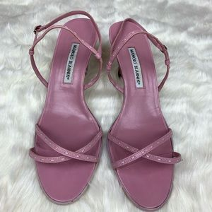 a5dde94d2f176 Manolo Blahnik · Manolo Blahnik Vero Cuoio ankle strap sandals